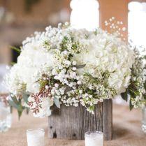 Diy Floral Wedding Centerpieces Hydrangea Wedding Flowers For