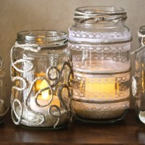 Diy Wedding Centerpiece Ideas Mason Jars
