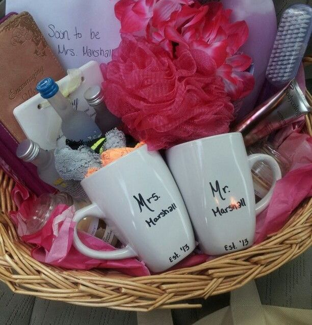 Diy Wedding Gift Baskets For Bride And Groom