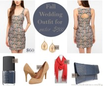 Dress To Wear To A Fall Wedding