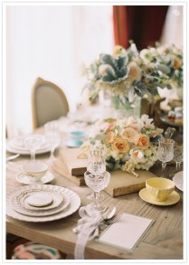 Elegant Bridal Shower Tea Party