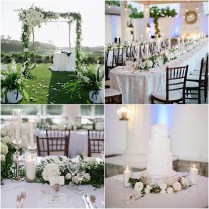 Elegant White St Regis Monarch Beach Wedding
