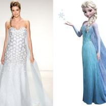 Elsa From Alfred Angelo's Disney Princess Wedding Gowns