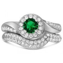 Emerald Wedding Ring