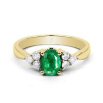 Emerald Wedding Rings Design
