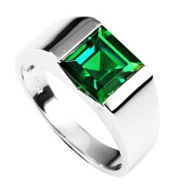 Emerald Wedding Rings Design