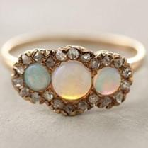Engagement Rings Opal