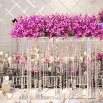 Extravagant Wedding Centerpieces For A Lavish Reception Table