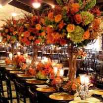 Fall Wedding Centerpieces Ideas Budget