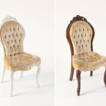 Feature Statement Chairs For The Bride And Groom At The Wedding
