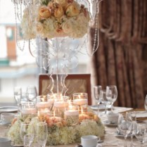 Flower Decorations For Wedding Tables On Decorations With Table