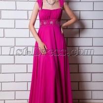 Fuchsia Maternity Prom Dress For Wedding Img 0758 1st