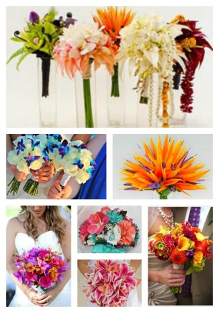 Fun Bridal Bouquet Ideas