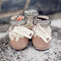 Gallery Handmade Hot Cocoa Wedding Favors
