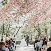 Georgia Wedding With Cherry Blossoms