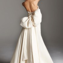 Giant Bow Wedding Dress