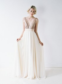 Glittering Truvelle Wedding Dress Collection & Interview {blush