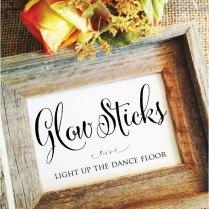 Glow Stick Wedding Glow Sticks Send Off By Weddingaffections