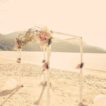 Graceful Vintage Beach Wedding Décor – Beach Wedding Tips
