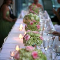 Green Hydrangea Centerpieces Wedding Centerpieces Bunches Direct