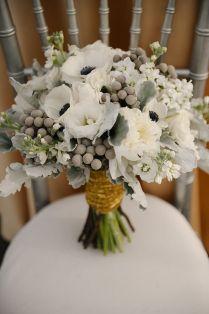Grey Wedding Bouquets