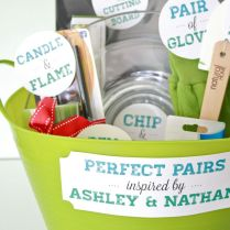 Hostess Gifts For Bridal Shower — All Home Ideas Good Creative