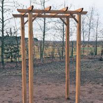 How To Build A Wedding Arbor