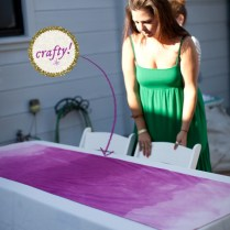 How To Make An Ombre Table Runner (23)