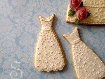 How To Make Wedding Dress Cookiessweetambs