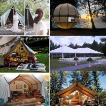 Ideas Of Outdoor Wedding Camp Wedding Party