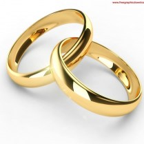 Interlocking Wedding Rings Clipart