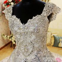 Jeweled Wedding Dresses, Cap Sleeves And My Style On Emasscraft Org