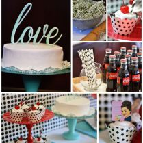 Kara's Party Ideas 1950's Housewife Retro Themed Bridal Shower