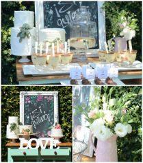 Kara's Party Ideas Rustic Chic Bridal Shower