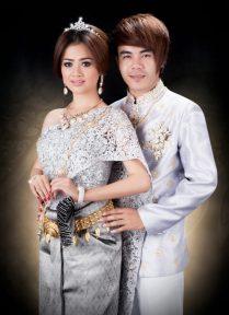 Khmer Wedding Dress 2014