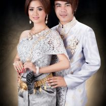 Khmer Wedding Dress 2014