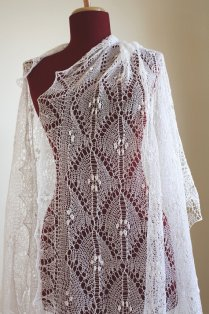 Knit Lace Wedding Dress