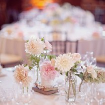 Light Pink Wedding Centerpieces With Cups Designthe5