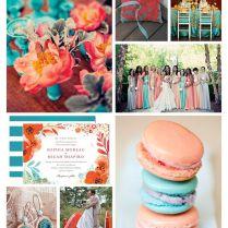 Love The Flowers In Upper Left Hand Corner!amazing Wedding Color