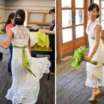Meet The Bride Whose Crochet Wedding Dress Photos Went Viral