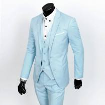Men 3 Piece Blue Suits, Men 3 Piece Blue Suits Suppliers And