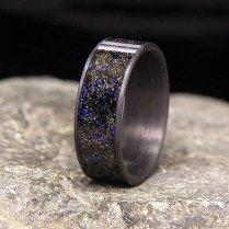 Mens Wedding Rings Meteorite