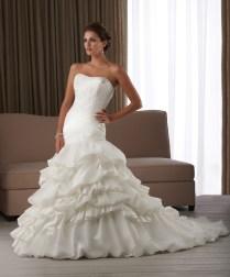Mermaid Style Wedding Dresses (20)