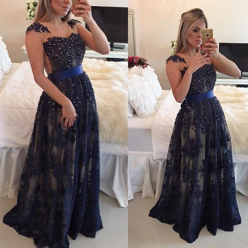 Midnight Blue Wedding Decorations: Midnight Blue Wedding Dress