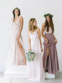 Mismatched Bridesmaid Style From Joanna August
