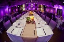 Modern Purple And Green California Wedding