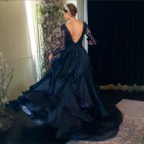 Navy Blue Wedding Dresses Wedding Gowns Wedding Pictures 0424 Kim