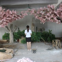 New Design Garden Wedding Arch Use Cherry Blossom Flower Branches