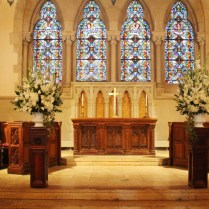 Old South Church & Ostra Wedding Flowers