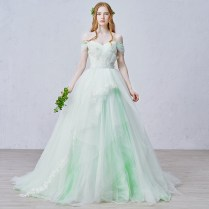 Online Buy Wholesale Light Green Wedding Dress From China Light